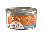 ALMO NATURE CAT DAILY MOUSSE MET STEUR (85 GRAM)