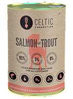 CELTIC CONNECTION DOG SALMON WITH TROUT CAN (375 GRAM)