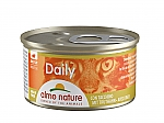 ALMO NATURE CAT DAILY MOUSSE MET KALKOEN (85 GRAM)