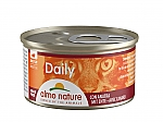 ALMO NATURE CAT DAILY MOUSSE MET EEND (85 GRAM)