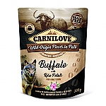 CARNILOVE INTO THE WILD BUFFALO WITH ROSE PETALS (300 GRAM)