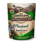 CARNILOVE INTO THE WILD PHEASANT WITH RASPBERRY LEAVES (300 GRAM)
