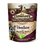 CARNILOVE INTO THE WILD VENISON WITH STRAWBERRY LEAVES (300 GRAM)