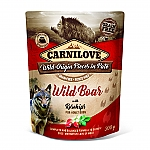 CARNILOVE INTO THE WILD WILD BOAR WITH ROSEHIPS (300 GRAM)