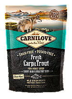 CARNILOVE INTO THE WILD FRESH CARP & TROUT ADULT (1,5 KG)