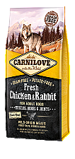 CARNILOVE INTO THE WILD FRESH CHICKEN & RABBIT ADULT (12KG)