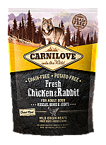 CARNILOVE INTO THE WILD FRESH CHICKEN & RABBIT ADULT (1,5 KG)