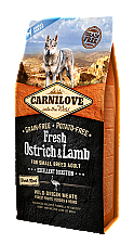 CARNILOVE INTO THE WILD FRESH OSTRICH & LAMB SMALL BREED ADULT (6KG)