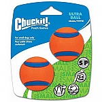 CHUCKIT ULTRA BALL (SMALL) (2-PACK)
