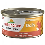 ALMO NATURE DAILY MOUSSE MET ZALM (85 GRAM)