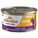 ALMO NATURE DAILY MOUSSE MET TONIJN & KIP (85 GRAM)