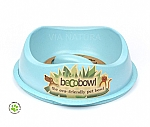BECOBOWL HOND SLOWFEED BLAUW (1,25 L)