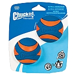 CHUCKIT ULTRA SQUEAKER (MEDIUM) (2-PACK)