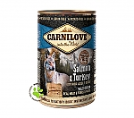CARNILOVE INTO THE WILD ADULT DOG BLIK SALMON & TURKEY (400 GRAM)