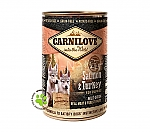 CARNILOVE INTO THE WILD PUPPIES BLIK SALMON & TURKEY (400 GRAM)