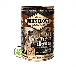 CARNILOVE INTO THE WILD ADULT DOG BLIK VENISON & REINDEER (400 GRAM)