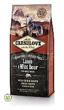 CARNILOVE INTO THE WILD LAMB & WILD BOAR ADULT (12 KG)