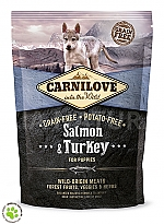 CARNILOVE INTO THE WILD SALMON & TURKEY PUPPY (1,5 KG)