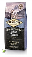 CARNILOVE INTO THE WILD SALMON & TURKEY PUPPY (12 KG)