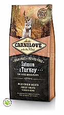 CARNILOVE INTO THE WILD SALMON & TURKEY PUPPY - LARGE BREED (12 KG)