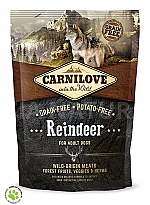CARNILOVE INTO THE WILD REINDEER ADULT (1,5 KG)