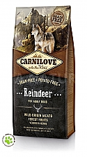 CARNILOVE INTO THE WILD REINDEER ADULT (12 KG)