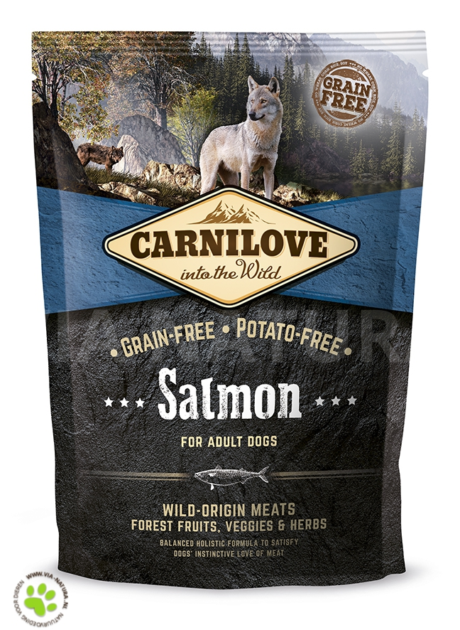 CARNILOVE INTO THE WILD SALMON ADULT (1,5 KG)
