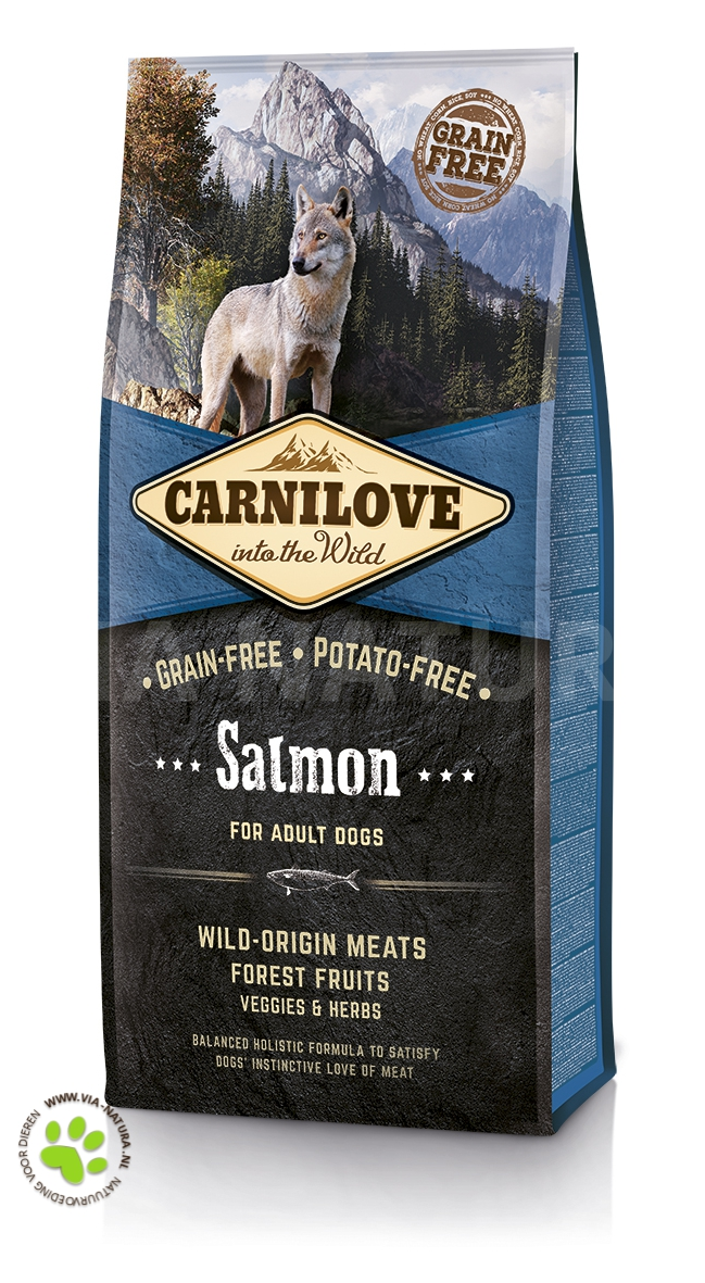 CARNILOVE INTO THE WILD SALMON ADULT (12 KG)