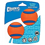 CHUCKIT ULTRA BALL (MEDIUM) (2-PACK)