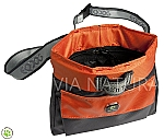 EQDOG TRAININGSTAS ORANJE/GRIJS (CLICK'N TREAT BAG)
