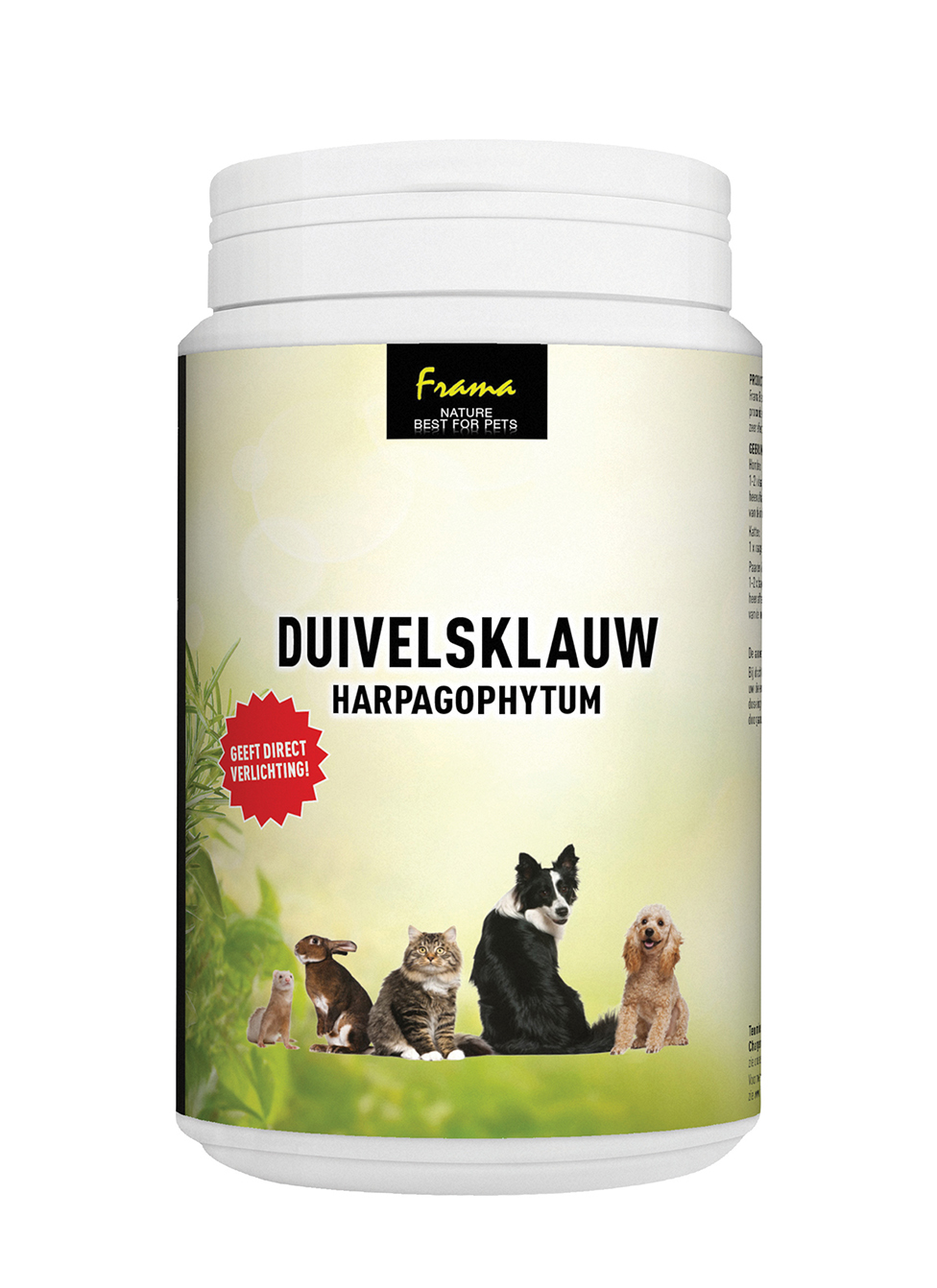 FRAMA DUIVELSKLAUW FIJN - NATURE BEST FOR PETS (75 GR)