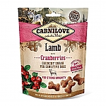 CARNILOVE CRUNCHY SNACK LAMB WITH CRANBERRIES (200 GRAM)