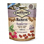 CARNILOVE CRUNCHY SNACK MACKEREL WITH RASPBERRIES (200 GRAM)