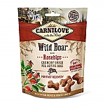 CARNILOVE CRUNCHY SNACK WILD BOAR WITH ROSEHIPS (200 GRAM)