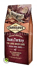 CARNILOVE INTO THE WILD DUCK & TURKEY FOR ADULT LARGE CATS ~ MUSCLES, BONES, JOINTS (6 KG)