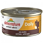 ALMO NATURE DAILY MOUSSE MET EEND (85 GRAM)