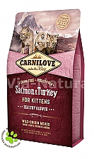 CARNILOVE INTO THE WILD SALMON & TURKEY FOR KITTENS (2 KG)
