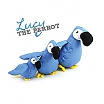 BECO PLUSH TOY PARROT (SMALL)