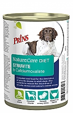 PRINS NATURECARE DIET DOG STRUVITE & CALCIUMOXALATE 400 GRAM