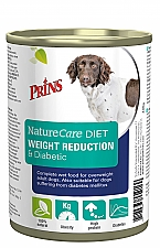 PRINS NATURECARE DIET DOG WEIGHT REDUCTION & DIABETIC 400 GRAM