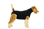 RECOVERY SUIT (SUITICAL) DOG (XXXS BLACK)