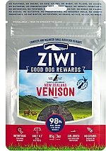 ZIWIPEAK AIR-DRIED VENISON DOG TREATS (85 GR)