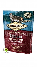CARNILOVE INTO THE WILD SALMON FOR ADULT CATS ~SENSITIVE & LONG HAIR (400 GRAM)