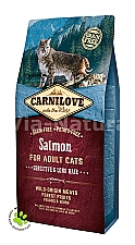 CARNILOVE INTO THE WILD SALMON FOR ADULT CATS ~SENSITIVE & LONG HAIR (6 KG)