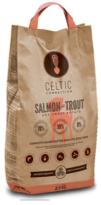 CELTIC CONNECTION SALMON & TROUT (2,5 KG)