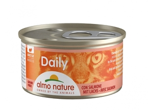 ALMO NATURE CAT DAILY MOUSSE MET ZALM (85 GRAM)