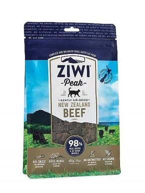 ZIWI PEAK AIR-DRIED BEEF FOR CATS (400 GRAM)