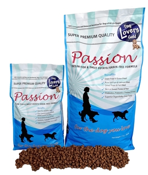 DOG LOVERS GOLD PASSION OCEAN FISH & SWEET POTATO (13 KG)