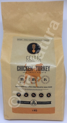 CELTIC CONNECTION CHICKEN & TURKEY (1 KG)