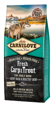 CARNILOVE INTO THE WILD FRESH CARP & TROUT ADULT (12 KG)